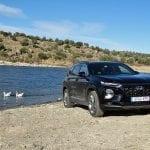 Prueba Hyundai Santa Fe offroad perfil