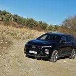 Prueba Hyundai Santa Fe perfil