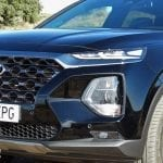 Prueba Hyundai Santa Fe detalle frontal