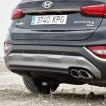 Prueba Hyundai Santa Fe tubos de escape