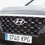 Prueba Hyundai Santa Fe parrilla