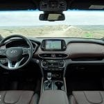 Prueba Hyundai Santa Fe diseño interior