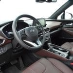 Prueba Hyundai Santa Fe interior