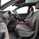 Prueba Hyundai Santa Fe asientos delanteros