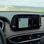 Prueba Hyundai Santa Fe pantalla táctil