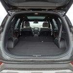 Prueba Hyundai Santa Fe maletero asientos tumbados