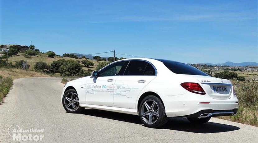 Prueba Mercedes-Benz E 300 de trasera