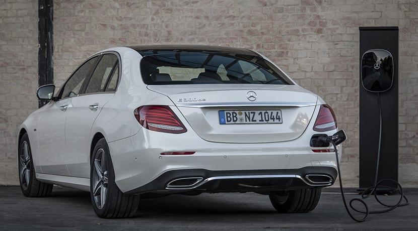 Prueba Mercedes-Benz E 300 de carga
