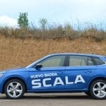Prueba Skoda Scala perfil