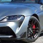 Prueba Toyota Supra faros