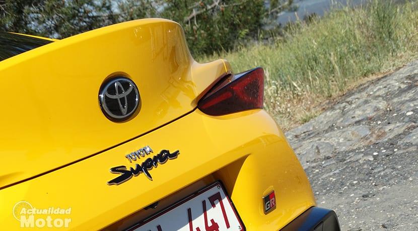 Prueba Toyota Supra inscripción