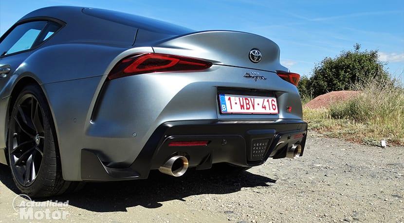 Parte trasera del Toyota GR Supra