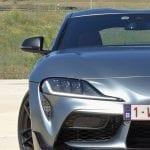 Prueba Toyota Supra detalle frontal