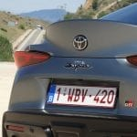 Prueba Toyota Supra alerón integrado