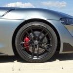 Prueba Toyota Supra llantas y frenos