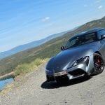 Prueba Toyota GR Supra perfil delantero
