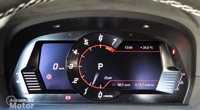 Cuadro instrumentos digital Toyota GR Supra