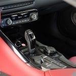 Prueba Toyota Supra palanca de cambios ZF
