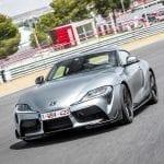 Prueba Toyota GR Supra frontal