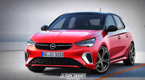 Render del Opel Corsa GSI