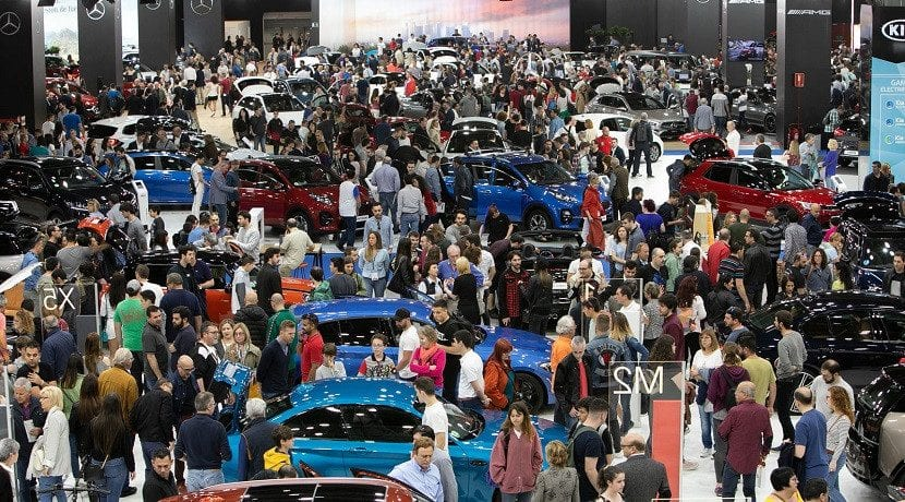 Stands del Automobile Barcelona