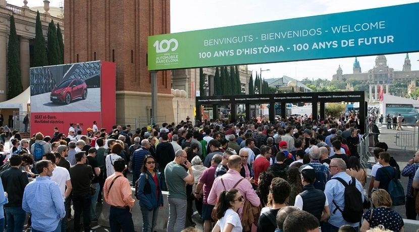 Entrada del Automobile Barcelona 2019