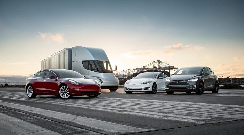 Modelos de Tesla