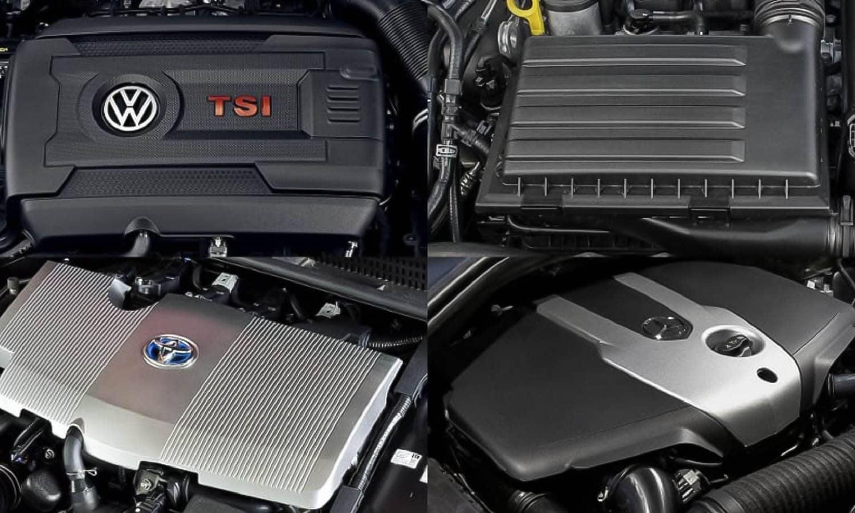 Diferentes tipos de motores de combustión interna