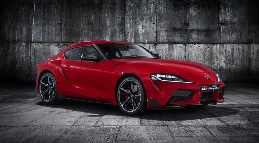 Toyota Supra perfil
