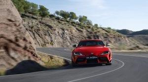 Toyota Supra dinámica