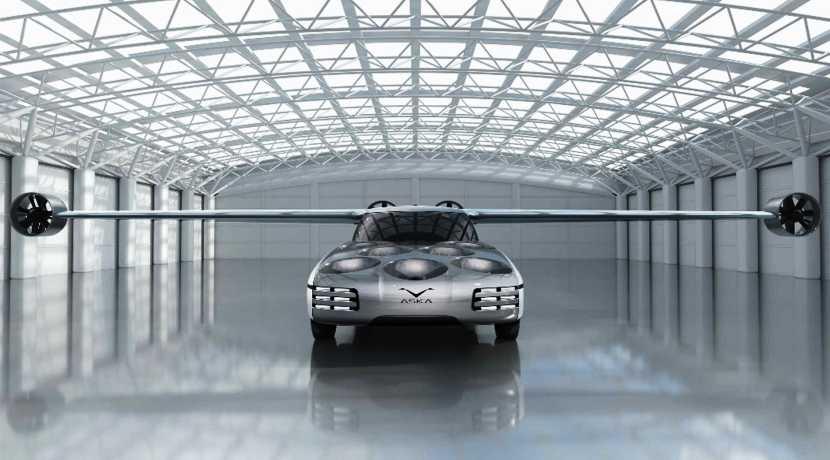 Aska eVTOL Concept Hybrid Flying Car