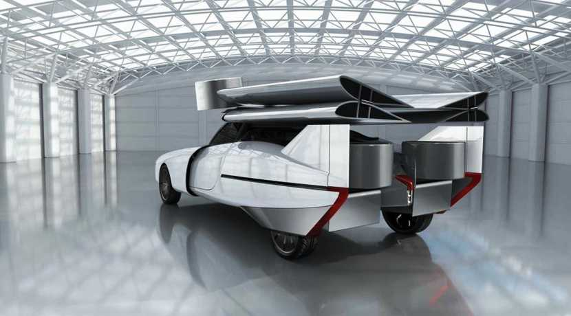 Aska eVTOL Concept Hybrid Flying Car