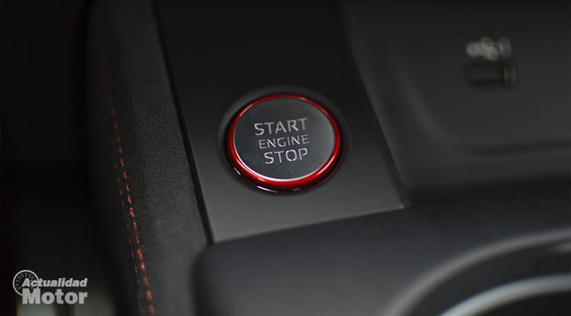 Audi RS 5 Botón encendido