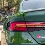 Audi RS 5 Detalle piloto trasero