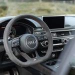 Audi RS 5 Detalle volante