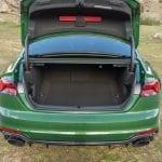 Audi RS 5 Maletero