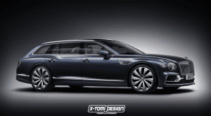 Bentley Flying Spur Station Wagon render X-Tomi Design