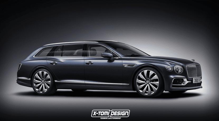 Bentley Flying Spur Station Wagon render X-Tomi Design