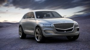 Genesis GV80 Concept frontal