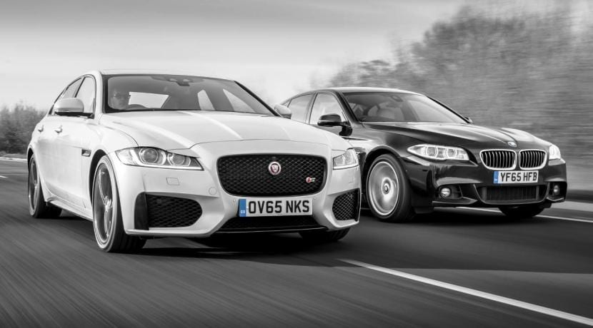 Jaguar XF vs BMW Serie 5