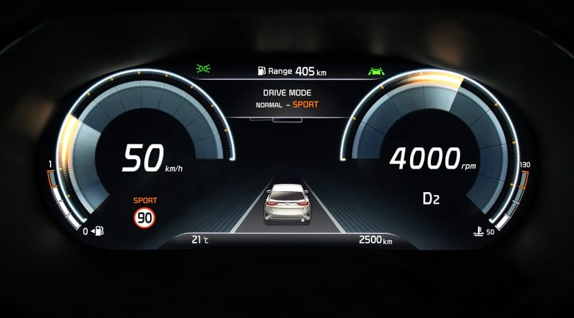 Kia XCeed Supervision Virtual Cockpit