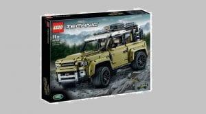 LEGO Technic Land Rover Defender filtración