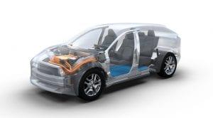 Plataforma BEV Subaru y Toyota