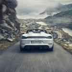 Porsche 718 Spyder zaga 0