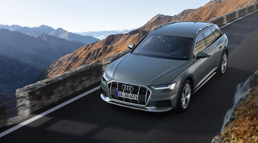 Audi A6 Allroad quattro perfil