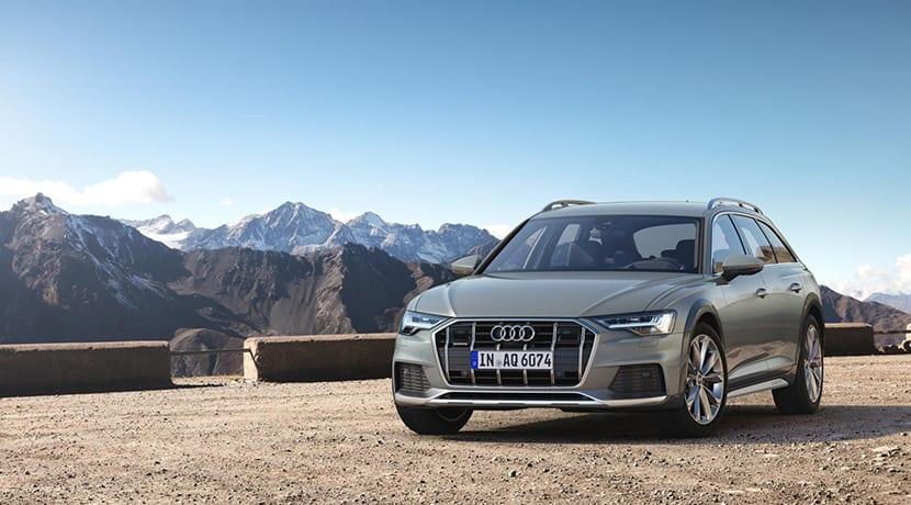 Audi A6 Allroad quattro frontal