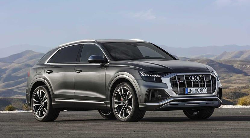 Audi SQ8 perfil
