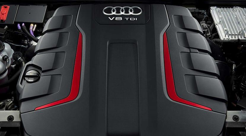 Audi SQ8 motor V8 TDI 4.0
