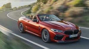 BMW M8 Competition Cabrio dinámica