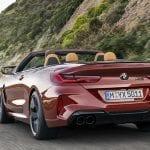 BMW M8 Competition Cabrio parte trasera